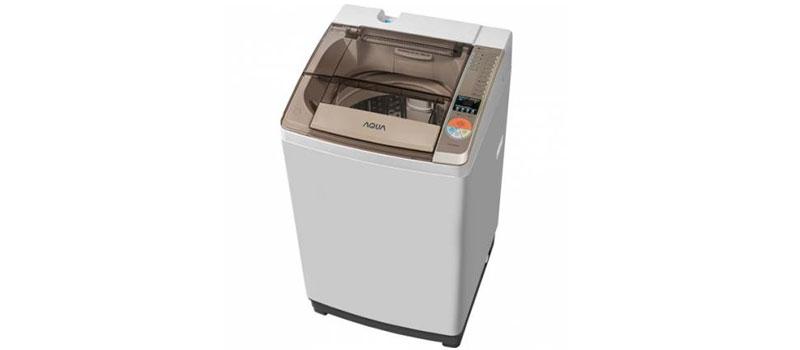 Bộ điều khiển điện tử thông minh cho bạn điều khiển máy giặt Aqua AQW-QW80ZT (H) đơn giản, dễ dàng