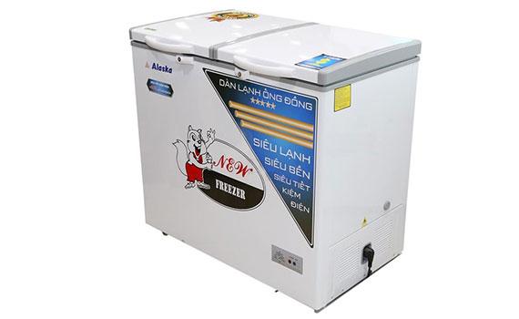 tủ đông Alaska BCD-3568C 350 lít thiết kế lớp foam đầy giữ lạnh tốt