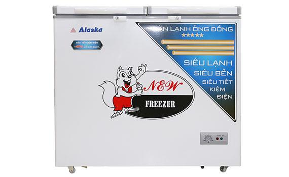 Mua tủ đông Alaska BCD-3568C 350 lít trả góp lãi suất 0% tại Nguyễn Kim