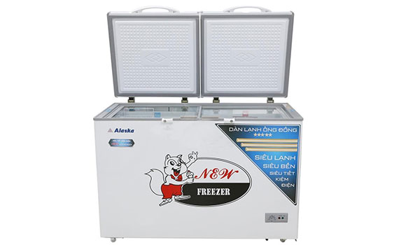 Tủ đông Alaska BCD-5068C dung tích 500 lít thoải mái lưu trữ thực phẩm