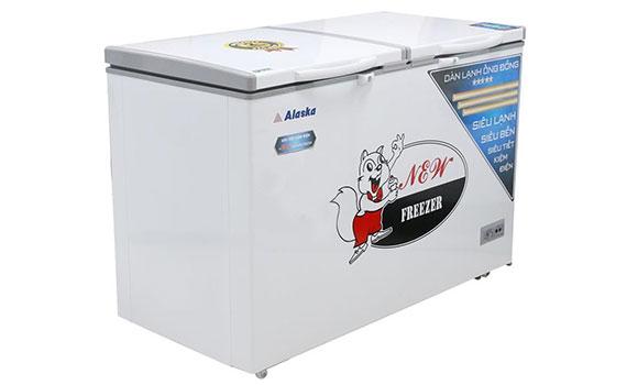 Tủ đông Alaska BCD-5068C 500 lít hệ thống làm lạnh tiết kiệm điện năng