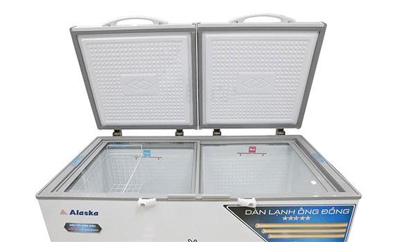 Tủ đông Alaska BCD-5068C 500 lít thiết kế tăng cường khả năng giữ lạnh