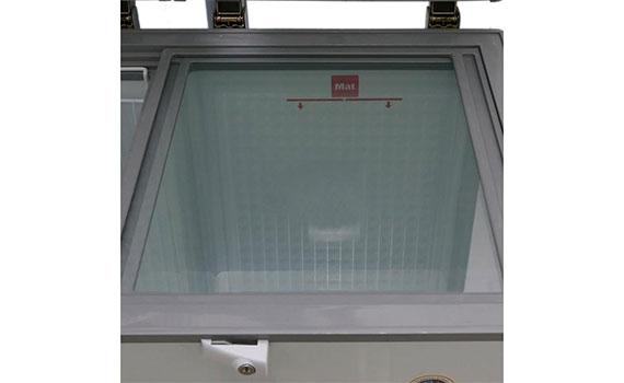 Tủ đông Alaska BCD-5068N 500 lít với chất liệu nhựa cao cấp an toàn
