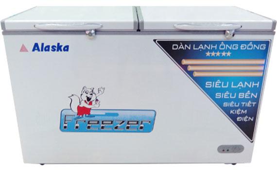 Tủ đông Alaska HB-550N thiết kế 1 ngăn 2 nắp giảm hao điện