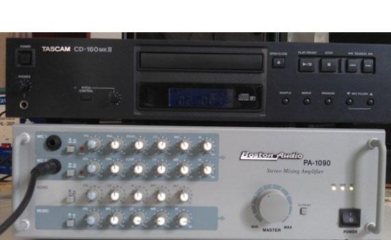Amply Boston Audio PA 1090 công suất hoạt động cao