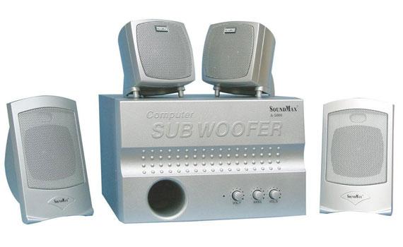 Loa vi tính Soundmax A5000 chất lượng âm thanh cao