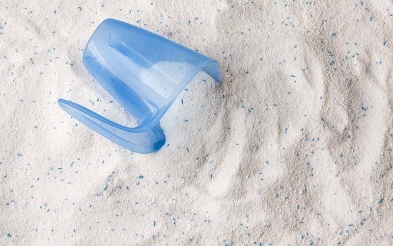 Dùng bột giặt tay để dùng