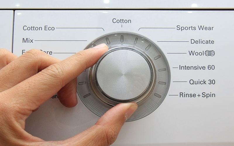 Đa dạng chương trình giặt giũ giúp tối ưu hơn