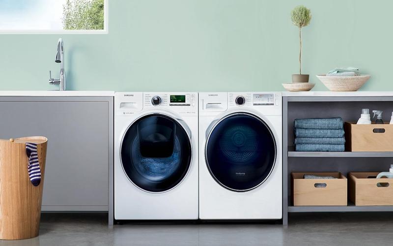 Là loại máy giặt có thiết kế cửa nằm ở mặt trước