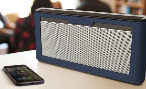 Loa Bose Soundlink III kết nối bluetooth nhanh chóng qua smartphone, tablet