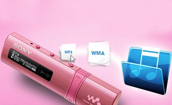 Máy nghe nhạc MP3 Sony NWZ-B183F dung lượng lớn