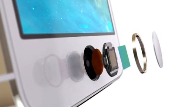 Điện thoại iPhone 6S Plus trang bị cảm biến vân tay