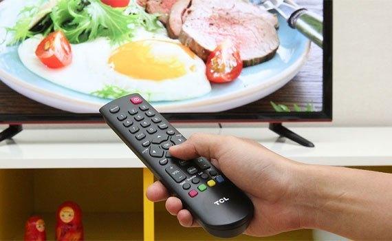 Tivi LED TCL L50D2700 với ánh sáng tự nhiên không gây hại mắt