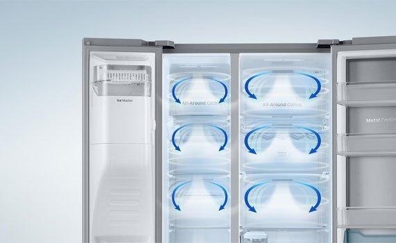 Tủ lạnh Panasonic NR-BV328XSVN làm lạnh thông minh