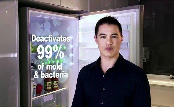 Tủ lạnh Panasonic NR-BV328QSVN diệt khuẩn khử mùi thông minh