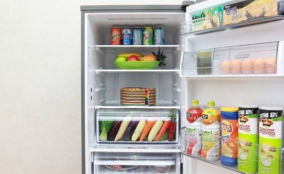 Tủ lạnh Panasonic NR-BV328QSVN làm lạnh thông minh