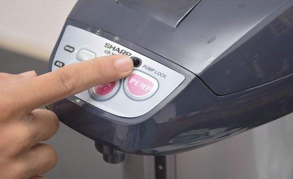Bình thủy điện Sharp KP-Y32PV an toàn cho người sử dụng