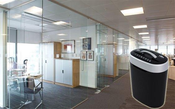 Máy hủy tài liệu Silicon PS-508M có thiết kế hiện đại, chuyên nghiệp