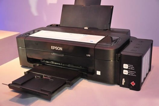 Máy in phun Epson L300 có thiết kế hiện đại