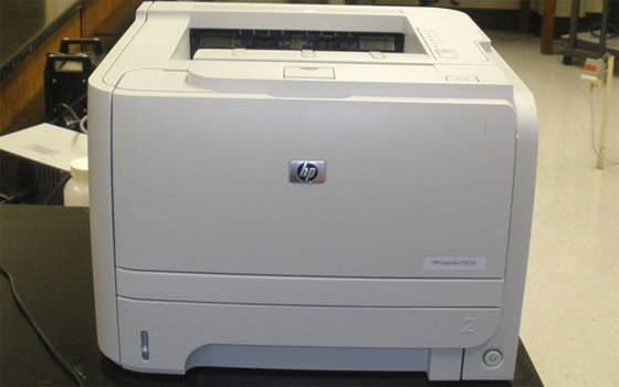 Máy in laser HP LaserJet P2035 thiết kế cứng cáp