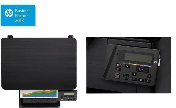 Máy in laser HP Pro M176N trang bị màn hình LCD