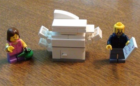 Máy fax Panasonic KX-FP711 tích hợp tính năng copy
