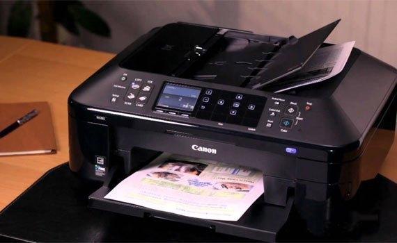 Máy in phun Canon PIXMA MX397 với thiết kế hiện đại