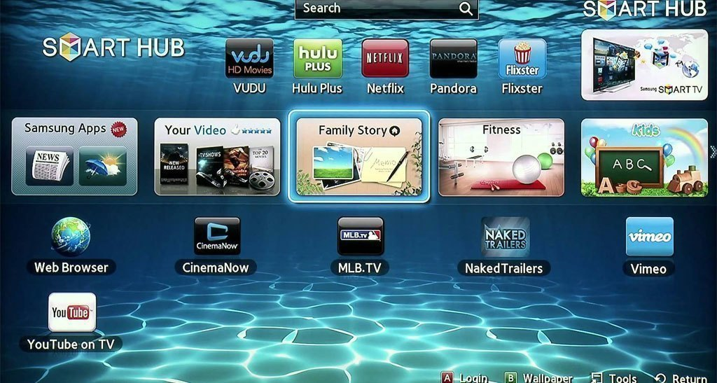 Tivi LED Samsung UA40J5200A trang bị nhiều tính năng tiện lợi
