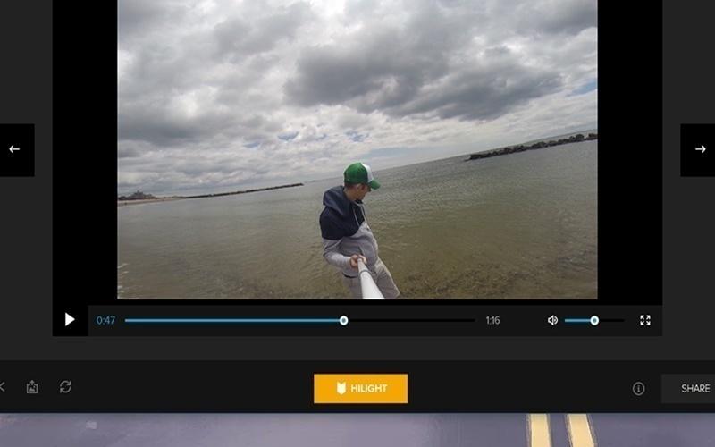 Đánh dấu người bạn muốn chia sẻ ngay trên máy GoPro