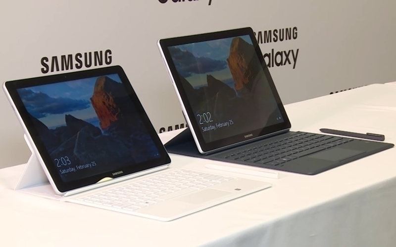 Hai kích thước màn hình khác nhau trên cùng dòng Samsung Galaxy Book