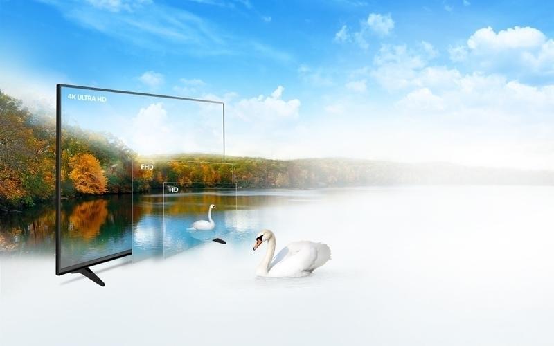 Tivi LG hình ảnh sắc nét với màn hình 4K