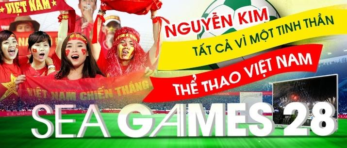 Nguyễn Kim khuyến mãi chào đón Sea games 28