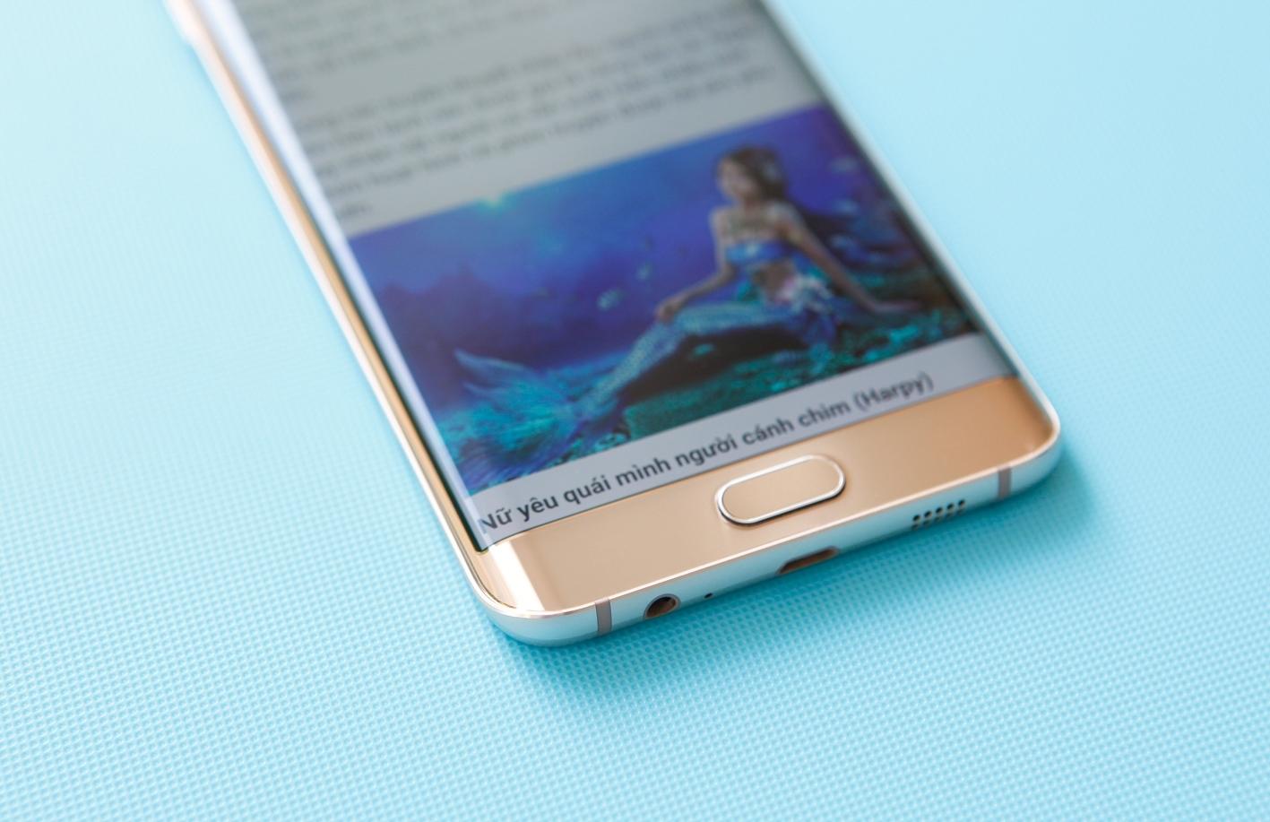 Galaxy S6 Edge Plus mành hình sống động