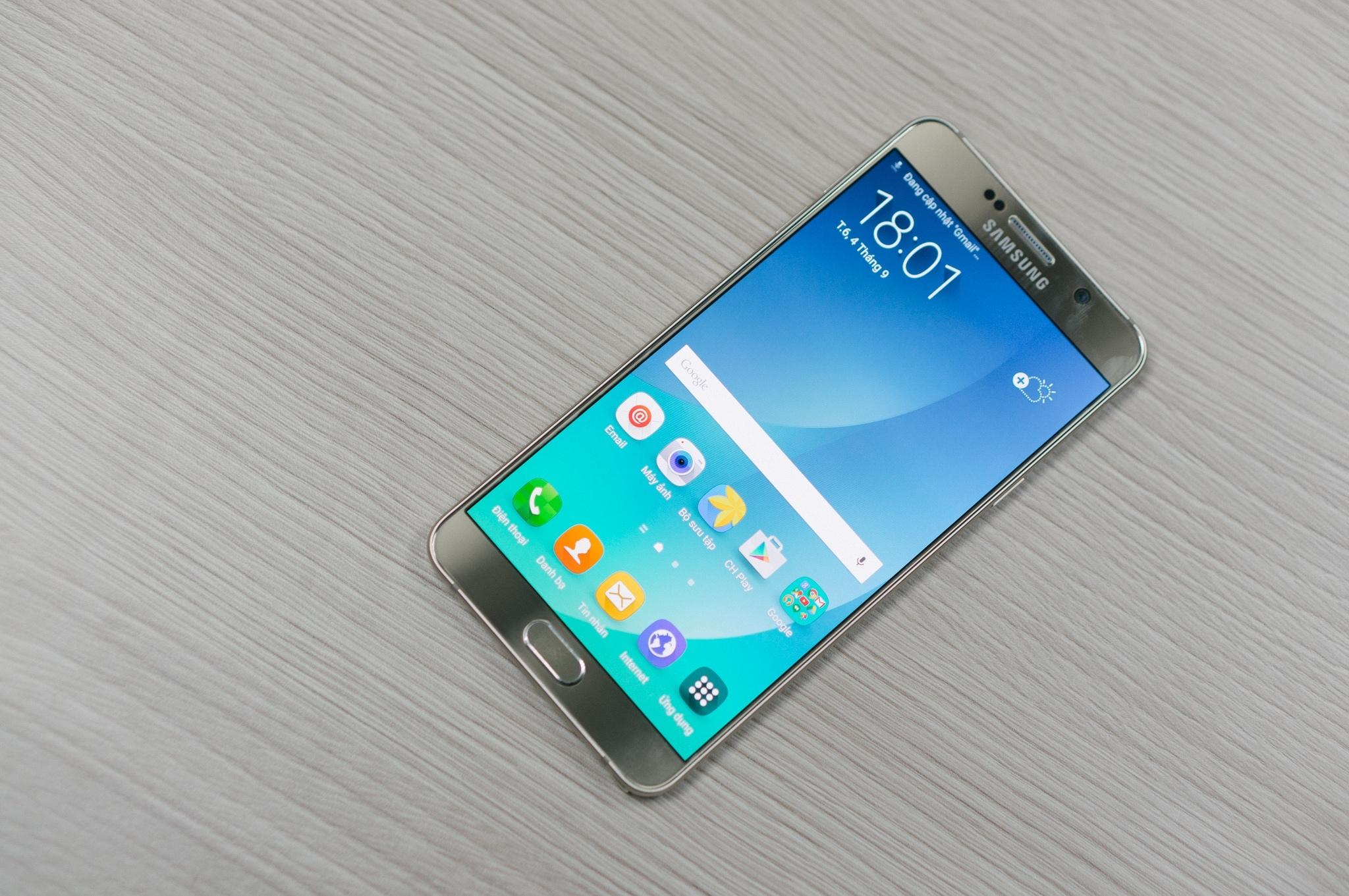 Galaxy Note 5 thiết kế tinh xảo công nghệ đỉnh