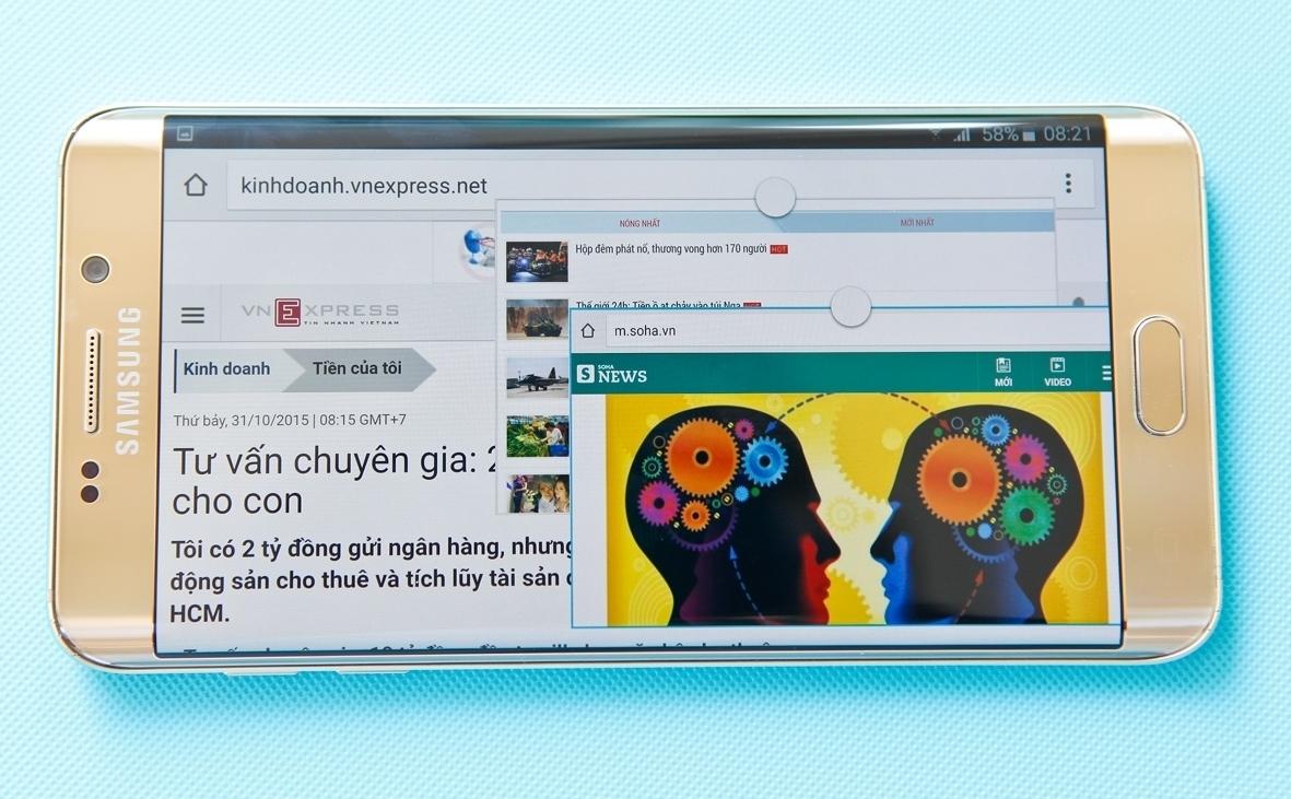 Galaxy S6 Edge Plus phục vụ giải trí tuyệt vời