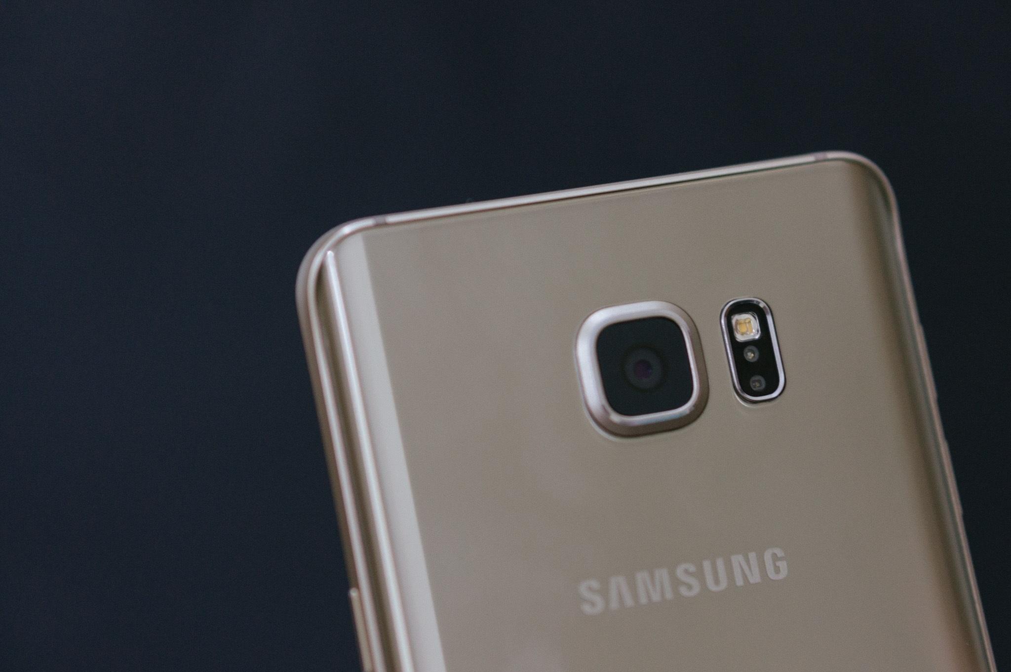 Galaxy Note 5 camera hoàn hảo