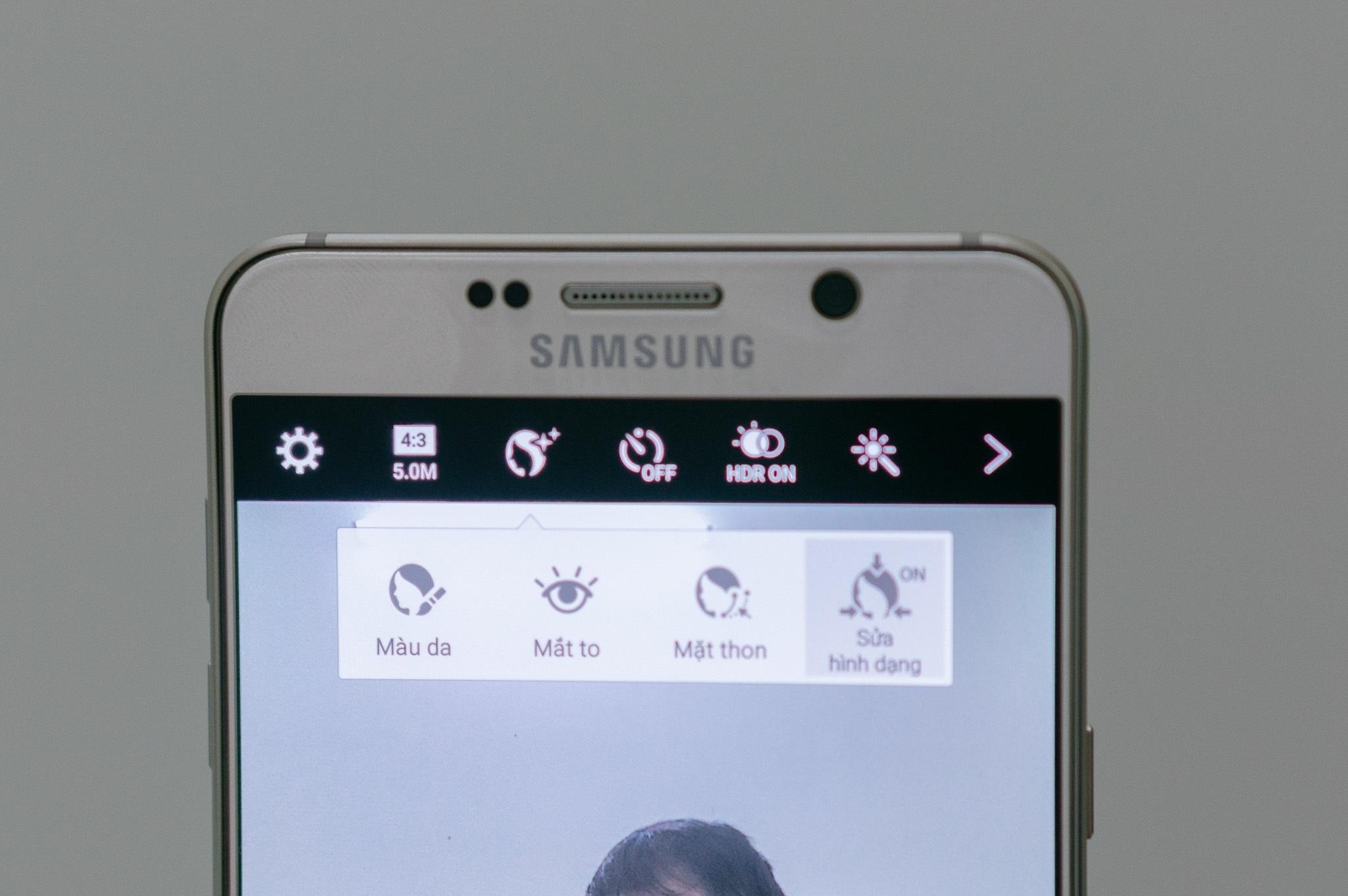 Galaxy Note 5 chụp ảnh sống động