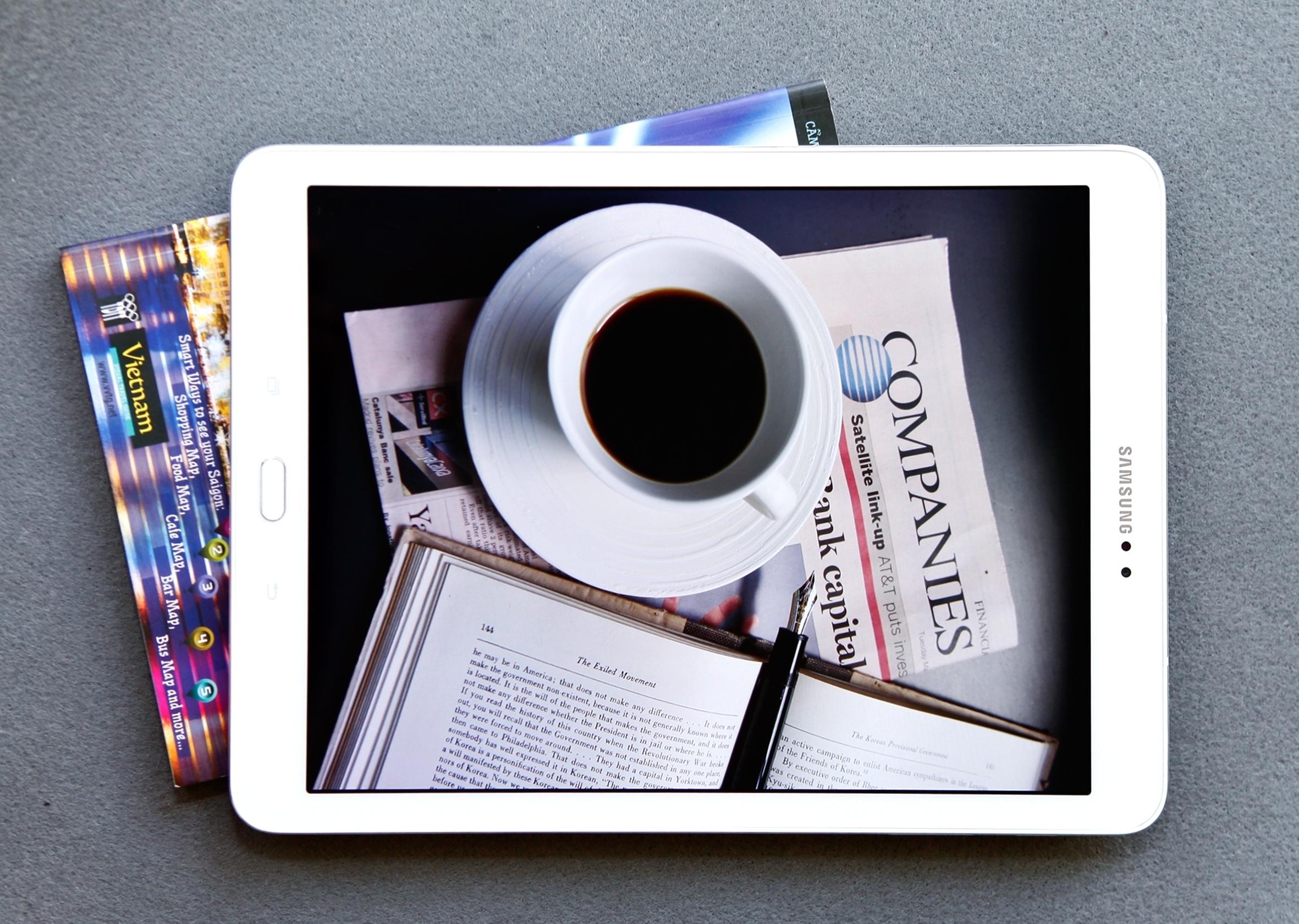 Galaxy Tab S2 hỗ trợ tối ưu cho công việc