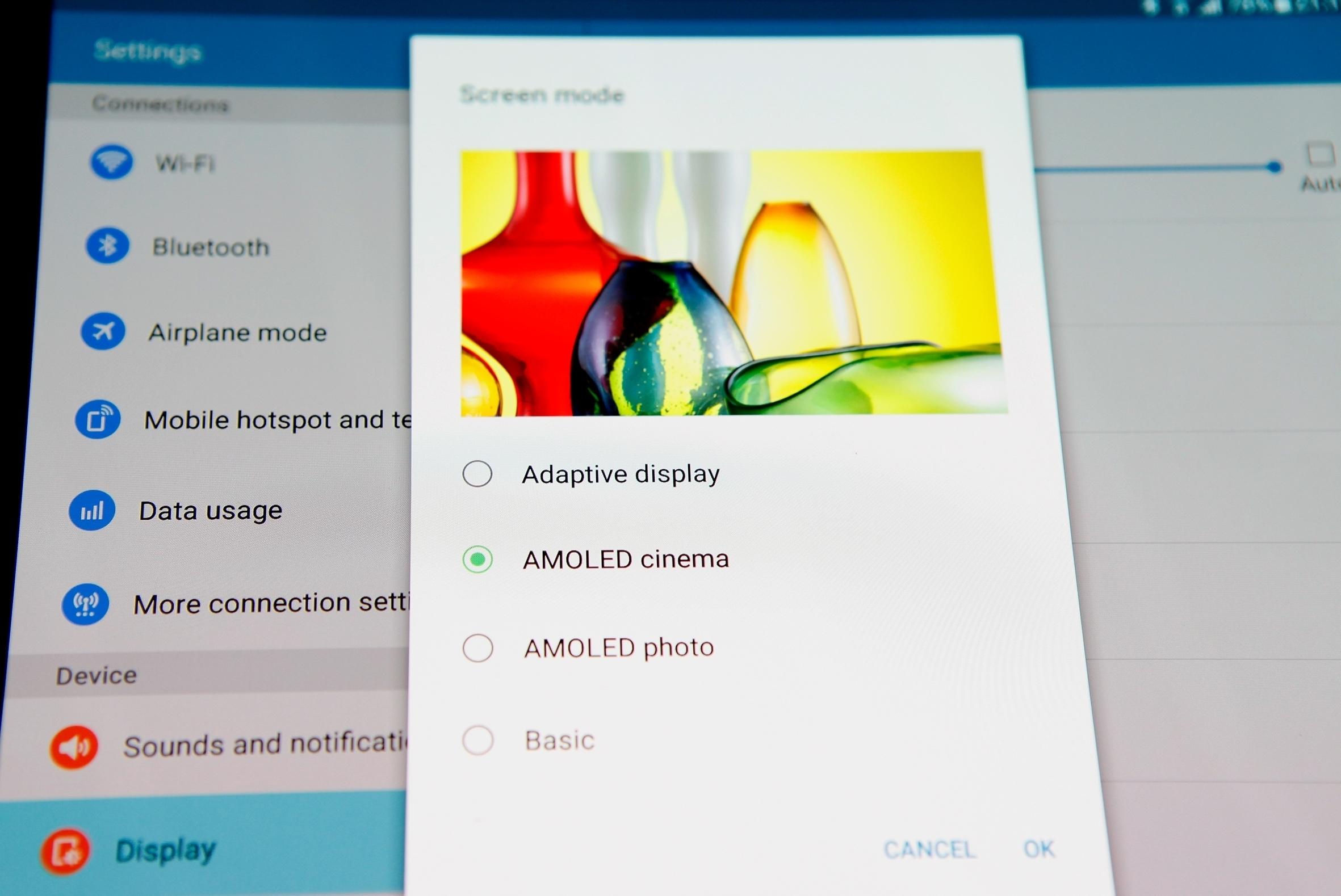 Galaxy Tab S2 màn hình siêu nét