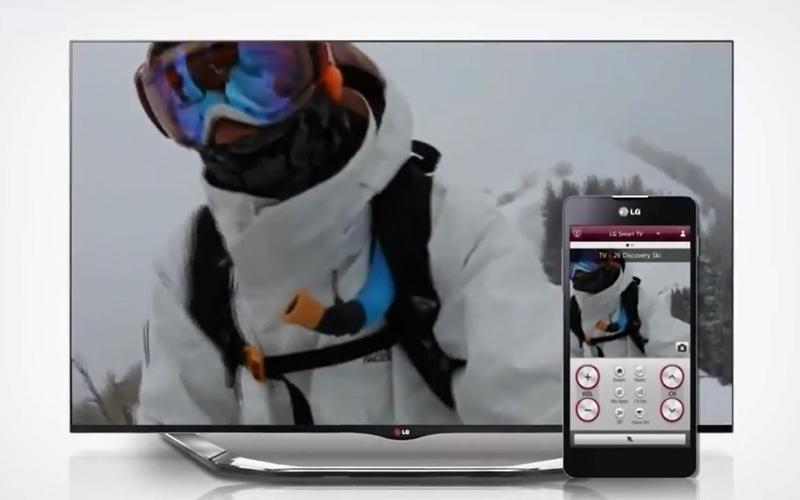 Điều khiển Smart tivi LG chỉ với cái chạm tay