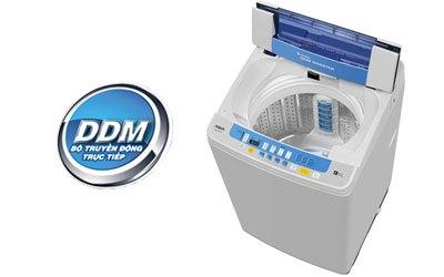Máy giặt loại nào tốt? Máy giặt Aqua AQW-DQ90ZT 9 kg bạc
