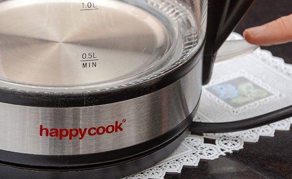 Mua ấm đun siêu tốc ở đâu tốt? Ấm đun siêu tốc Happy Cook HK17SK