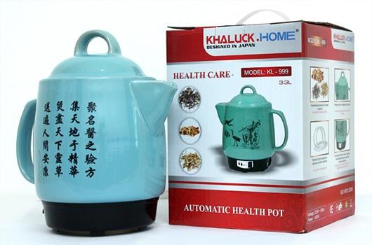 Siêu sắc thuốc bằng điện Khaluck.home KL-999 an toàn và hiệu quả hơn