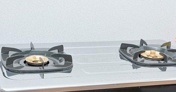 Bếp gas Rinnai RV-970(ST) được thiết kế mặt bếp bằng thép không gỉ