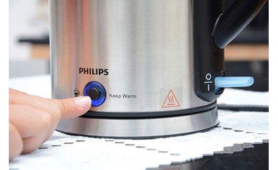 Bình đun Philips HD9316 có khả năng giữ nước nóng được lâu hơn