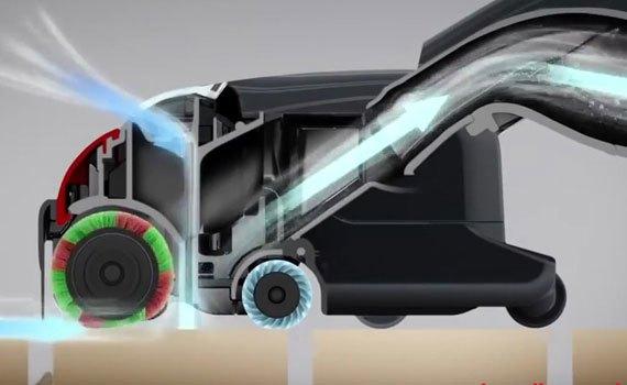 Máy hút bụi Hitachi CV-SC22 giữ sạch mọi góc nhà