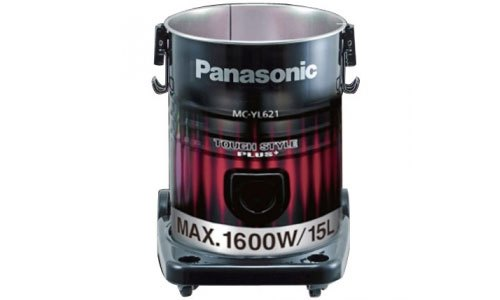 Máy hút bụi Panasonic MC-YL621RN46 sử dụng hộp chứa có dung tích 15 lít