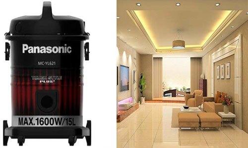 Máy hút bụi Panasonic MC-YL621RN46 thích hợp với nhà có diện tích lớn