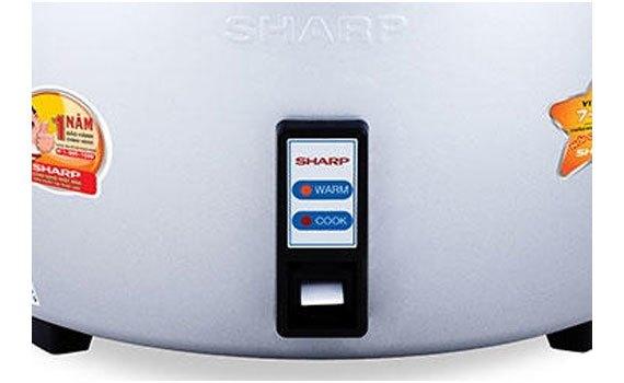 Nồi cơm điện Sharp KSH-1010V giữ ấm hiệu quả