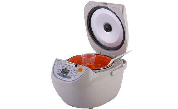 Nồi cơm điện Tiger JBV-S18W tiện dụng với chương trình nấu đa năng
